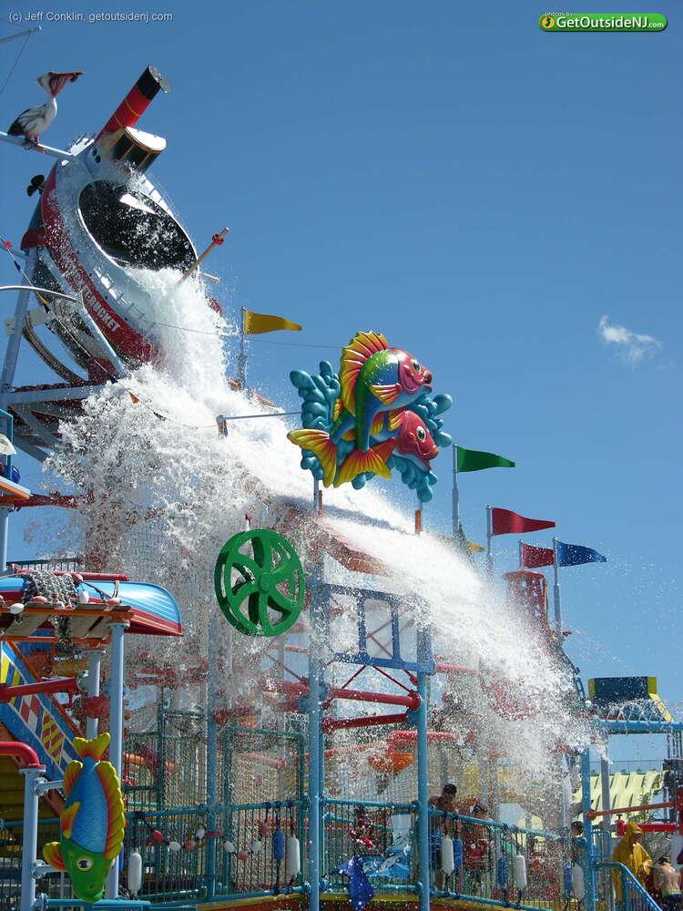 Breakwater Beach Waterpark At Casino Pier 800 Ocean Terr